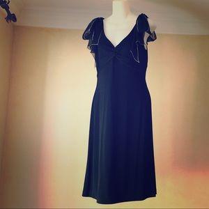 Like new BCBGMaxAzria black cocktail dress medium